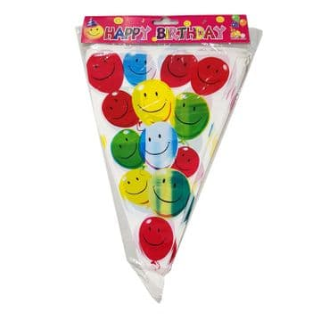 3 PACKS MIXED BIRTHDAY PARTY BALLOON BUNTING
